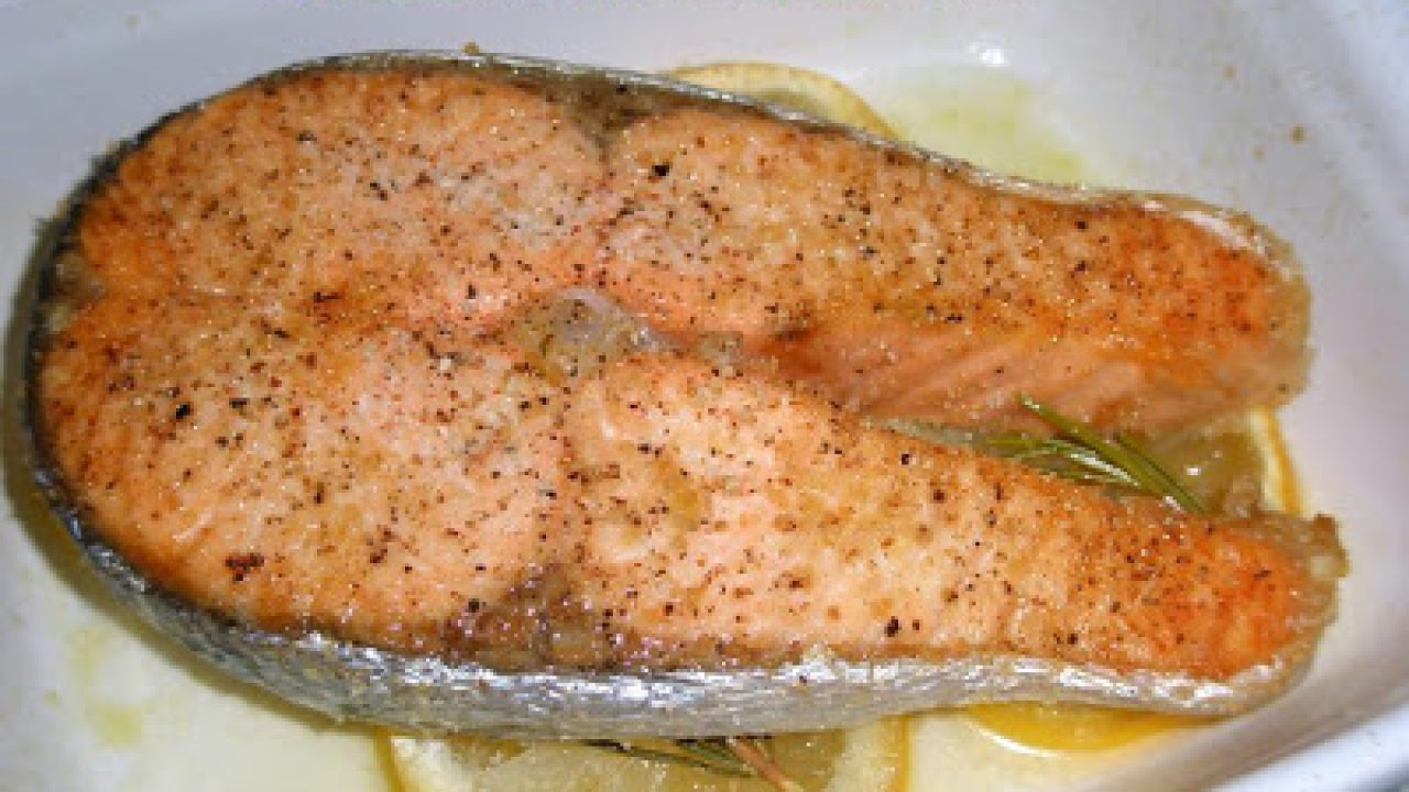 ricetta testa di salmone al forno