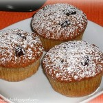 Smoothie muffins con farina di grano saraceno. Merenda a gogò!
