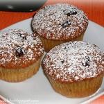 Smoothie muffins con farina di grano saraceno. Merenda a gogò!