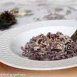 Tagliatelle al cacao in salsa speziata. Un Capodanno di zenzero, cannella e pepe rosa.