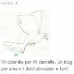 99 colombe in volo per l'Abruzzo