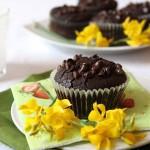 Muffins irresistibili al cacao. Ho scoperto l'acqua calda!