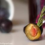 Marmellata di prugne rosse al rosmarino. Something Red: Rosso Susina!