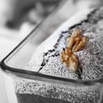 Plum cake alle banane con noci e fichi secchi. Rustico col cuore
