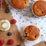 Berry muffins alla quinoa. Something Red: Quando pigrizia chiama…