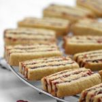 Striped icebox cookies. Something Red: (ri)Voglio la bilancia…