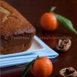 Cake speziato alle noci e mandarino. Ellatesta!!!