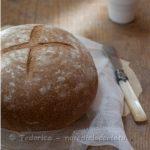 Pane con farina di riso rosso a lievitazione naturale. Se fosse…