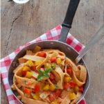 Rifatte senza glutine: pasta alla crema di peperoni…mission (im)POSSIBLE!!