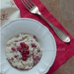 Risotto con melagrana, mela e lardo di Colonnata. Something Red: Dalla borsa di Mary Poppins…