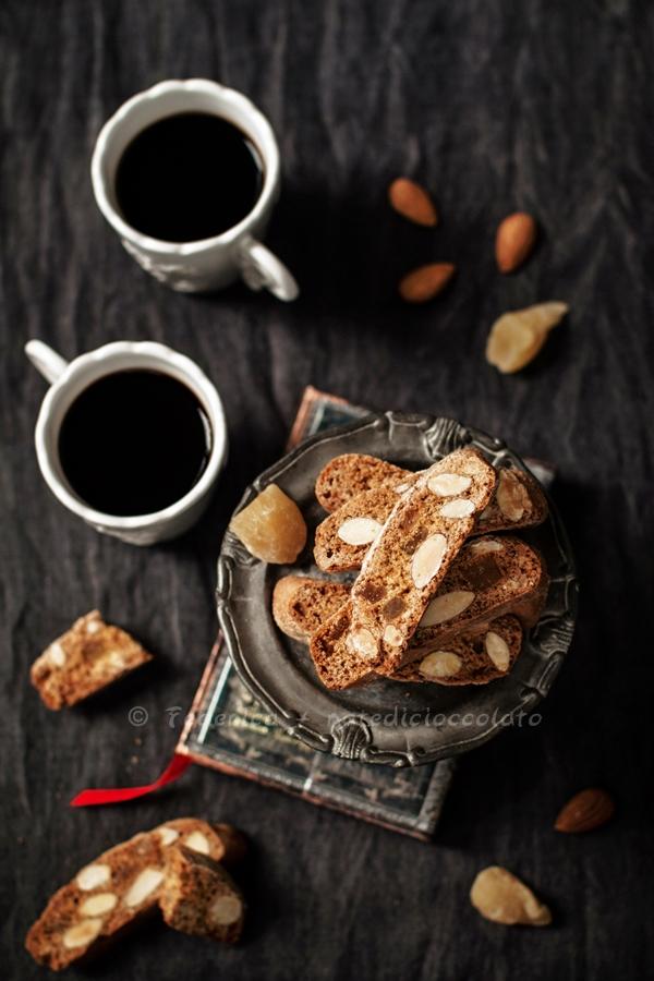 almond ginger biscotti 2