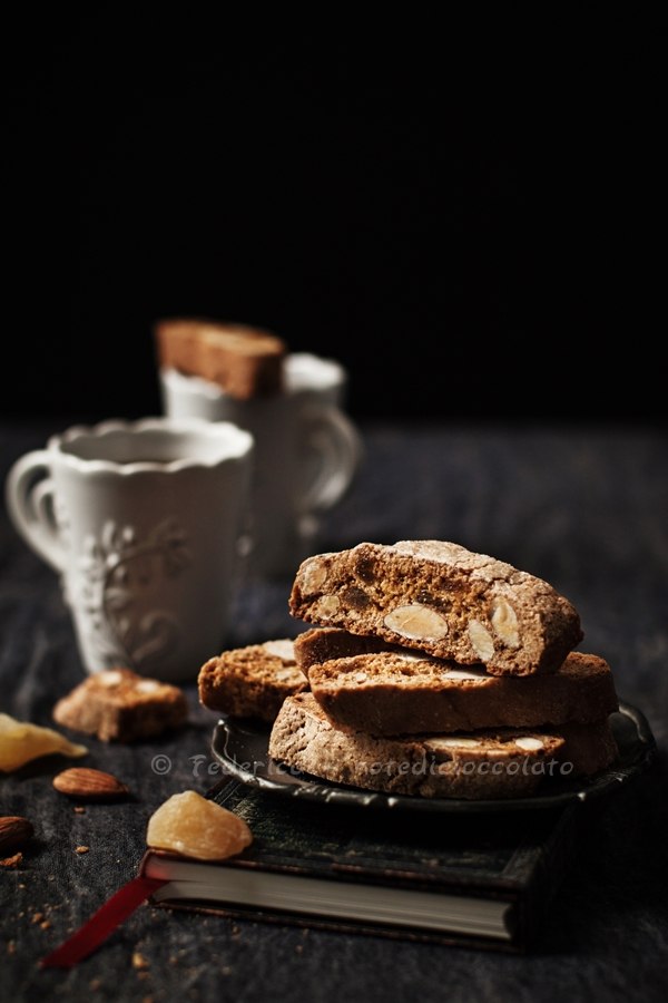 almond ginger biscotti 7