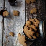 Biscotti vegan allo sciroppo d'acero. Idee regalo a gogò!