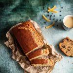 Plum cake al caffè. Una colazione sprint.