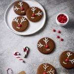 Reindeer cookie. Rudolph e la simpatia in un biscotto.