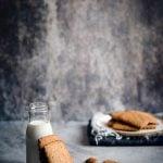 Biscotti al malto e grano saraceno. Leggeri e croccantissimi.