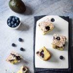 Quadrotti ai mirtilli…con l'ingrediente segreto!