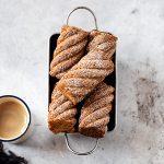 Eggnog banana bread. Taglia mini sofficità maxi.